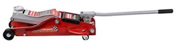 SPEED Rangierwagenheber Wagenheber hydraulisch flach 89-359mm 2 Tonnen -