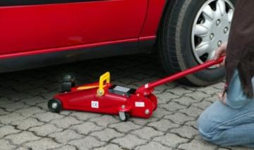 Unitec 10008 Hydraulischer Rangierwagenheber 2,0 to. -